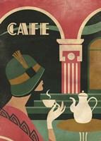 Art Deco Cafe Fine Art Print