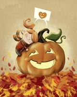 I Love Fall Fine Art Print
