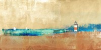 Coast Line and Lighthouse Fine Art Print