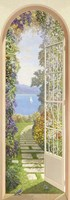 Giardino sul Lago Fine Art Print