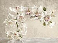 Orchid Vase Fine Art Print