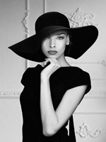 Lady with a Hat Fine Art Print