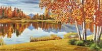 Bosco sul Lago Fine Art Print
