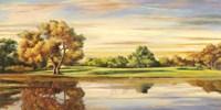 Riflessi sul Lago Fine Art Print