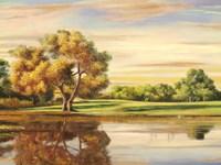 Riflessi sul Lago (detail) Fine Art Print