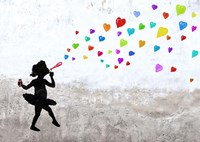Love Bubbles Fine Art Print