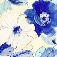 Toile Fleurs I Fine Art Print