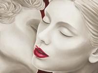 Eternal Lovers (detail) Fine Art Print