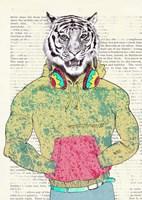 Sporty Guy Fine Art Print