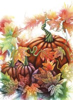 Autumn Pumpkins Fine Art Print
