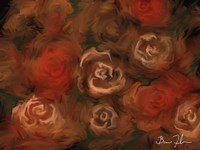 Bed of Roses Fine Art Print