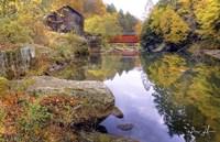 Autumn At The Mill Fine Art Print