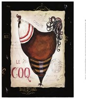 Parisian Rooster II Fine Art Print