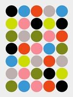 Candied Dots Fine Art Print