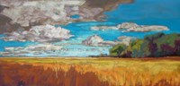 Late Summer Clouds Fine Art Print