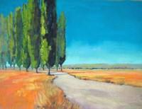 Poplars II Fine Art Print