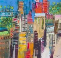 City Skyline 3 Fine Art Print