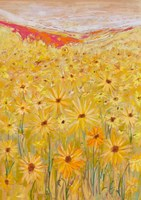 Spanish Sunflowers V Fine Art Print