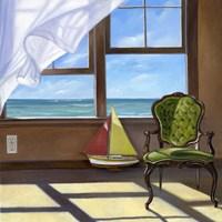 The Sea Breeze Fine Art Print