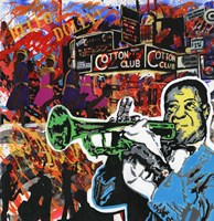 King Of Jazz Fine Art Print