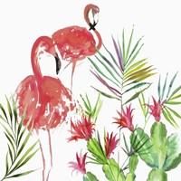 Flamingo Pairing Fine Art Print