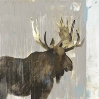 Moose Tails II Fine Art Print
