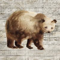 Crossing Bear I Fine Art Print