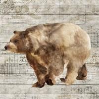 Crossing Bear II Fine Art Print