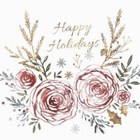 Happy Holiday Fine Art Print