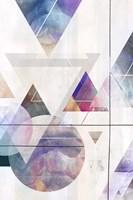 Kaleidescope Shapes II Fine Art Print