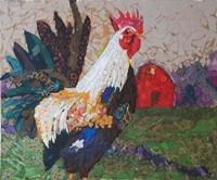 Au Chant du Coq Fine Art Print