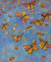 Monarch Migration B Fine Art Print