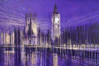 Westminster At Midnight Fine Art Print