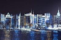 New York City Waterfront Fine Art Print