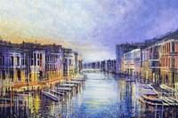 Venice At Sunset Fine Art Print