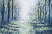 Summer In The Forest Fine Art Print