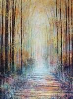 A Pathway To Autumn Fine Art Print