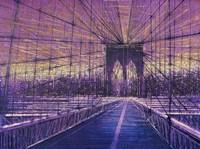 Brooklyn Bridge At Last Light Fine Art Print