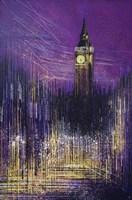 Big Ben At Sunset Fine Art Print