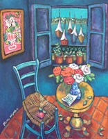 Quiet Corner in Collioure Fine Art Print
