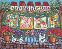 Quilts Fine Art Print