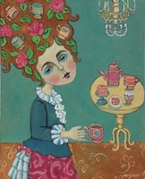 Tea For Marie; Antoinette That Is Fine Art Print