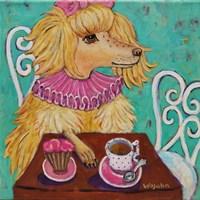 Proper Poodle Fine Art Print