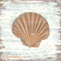 Ocean Scallop Fine Art Print