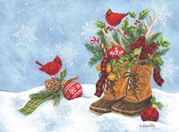 Holiday Boots Fine Art Print