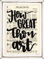 How Great Thou Art Fine Art Print