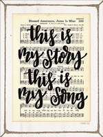 My Story, My Song Fine Art Print