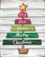 Traditional Christmas Tree Fine Art Print