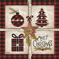 Four Square Merry Christmas Fine Art Print