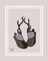 Ballerina Dreams 4 Framed Print